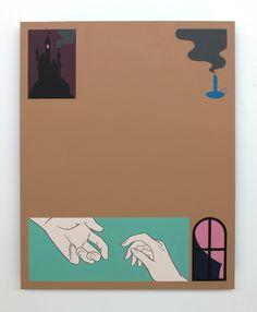La más que original obra del artista Greg Ito llena de imágenes simbólicas.