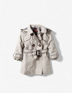 Raincoat with Removable Hood - $35.90 at Zara {so tiny but so chic!}