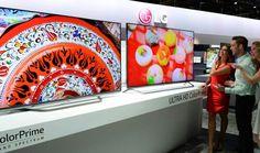 LG 4K Ultra HD TVs at CES2015