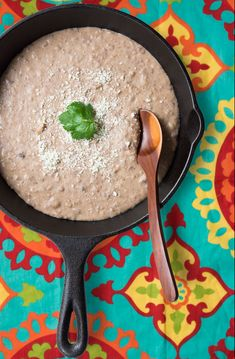 Making refried beans from scratch is the best Mexican comfort food.