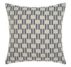 Manon 43x43cm Filled Cushion Indigo | Manchester Warehouse Cushions Online, Modern Retro, Indigo, Lounge, Throw Pillows, Marie Claire, Warehouse, Manchester, Airport Lounge