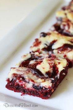 Red Velet Blueberry Ooey Gooey Butter Cake.  Perfect for a July 4th party!
