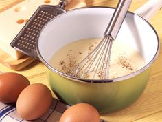 Découvrez la recette Bechamel ultra light sur cuisineactuelle.fr.