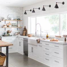 Oh so good! Love this kitchen! See this Instagram photo by @heatherbullard, via @michelle_janeen