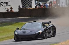 Jenson Button Tests The McLaren P1 At The 2013 Goodwood Festival Of Speed (VIDEO)