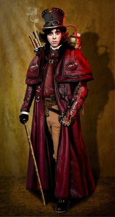 Safari Steampunk Anyone? Steampunk is a rapidly growing subculture of science fiction and fashion. Steampunk Couture, Viktorianischer Steampunk, Design Steampunk, Steampunk Outfits, Steampunk Cosplay, Steampunk Clothing, Steampunk Fashion Men, Steampunk Images, Steampunk Dress