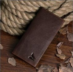 New arrival fashion genuine leather long design wallet men multi-card bit wallets high-quality wolf prints purse freeshipping