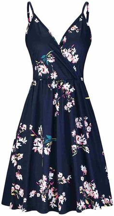 Pretty Dresses, Sexy Dresses, Fashion Dresses, Beach Dresses, Beautiful Casual Dresses, Cute Floral Dresses, Long Dresses, Shopping Outfits, Swing Dress With Pockets