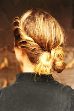4. Twisted Bun