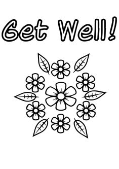 free printable get well greeting card healthy and happy again