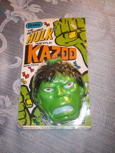 "Vintage 1979 Marvel Straco ""The Incredible Hulk"" Hum N' Play Kazoo   eBay"
