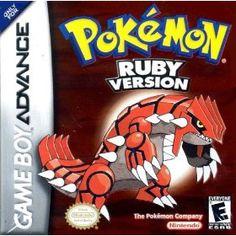 Pokemon Ruby, for game boy advance