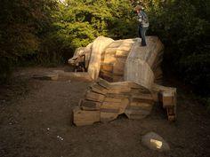 Thomas Dambo gigantes de madera 12