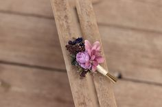 groom's boutonniere by EvaFleurs on Etsy Groom Boutonniere, Fall Flowers, Flowers In Hair, Flower Head Wreaths, Hair Comb Wedding, Flower Crown, Bobby Pins, Hair Accessories