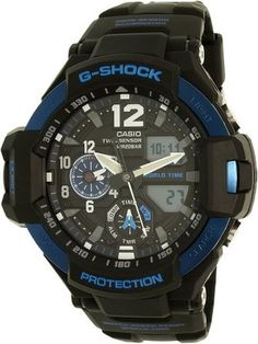 Pilot Watch G-Shock GRAVITYMASTER GA1100-2B We already show you last time about Big Brother GA1100-1B and today we found another great G-Shock with nice blue color and nice material the GA1100-2B t…