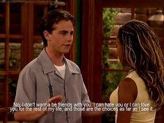 Shawn and Angela on Boy Meets World | One of the saddest episodes yet.  (Cuz Shawn Drama.  : (((((( )