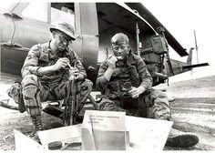Vietnam War: Time for chow. Taste? Average.