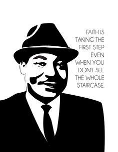 Free Dr. Martin Luther King Jr. Printable. #MLK #MLKDay #Freeprintable www.jessikareed.com
