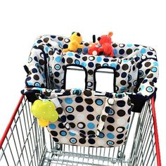 Amazon.com : Grocery & Shopping Cart Cover for Baby Used in High Chair As Well, Enhance Comfort & Safety for Your Little One Now! : Baby