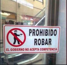 Prohibido Robar !!