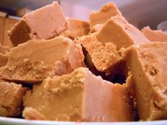 Butterscotch fudge. Marshmallow creme makes this very creamy and smooth. A nice variation on the classic chocolate fudge recipe.