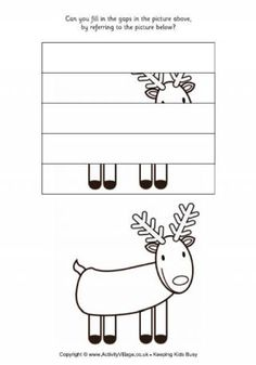 Reindeer - Complete the Picture