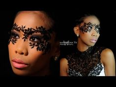 Masquerade - Lace Mask Makeup Tutorial. Link download: http://www.getlinkyoutube.com/watch?v=UINQ6JyXQOQ