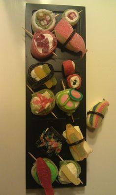 Hele udvalget af sushi Made by Simone
