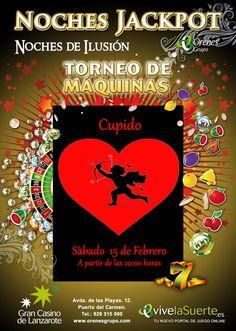 "Noches Jack Pot Torneo ""Cupido"""