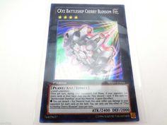 YuGiOh CXyz Battleship Cherry Blossom NUMH-EN044 1st Edition N Secret Rare