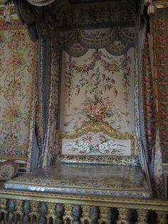 Her bed...Marie Antoinette