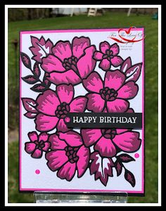 Another Sneak Peek At Blossoms in Bloom - Featuring Magenta Madness Scrapbooking, Scrapbook Cards, Prim Christmas, Stamping Up Cards, Blossom Flower, Card Sketches, Sympathy Cards, Card Tags, Flower Cards