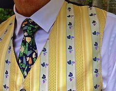 Vintage French vest & Hermès tie, Ben Sherman shirt  #menstyle #menswear #menscouture #mensfashion #instafashion #fashion #hautecouture #sartorial #sprezzatura #style #dapper #dapperstyle #pocketsquare