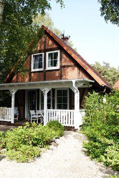 Strandnahes Ferienhaus am Wald Juliusruh  - Blick aus dem Garten