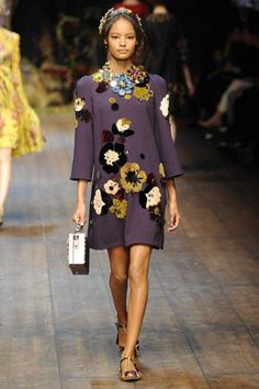 One of my favorite looks from Dolce & Gabbana Fall 2014 Ready-to-Wear Collection (Worn by Jessica Mauboy)
