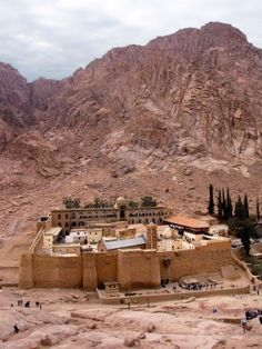 Picture of Saint Catherine's Monastery, Sinai Peninsula, Egypt stock photo, images and stock photography. Saint Catherine's Monastery, Sinai Peninsula, Israel History, Church Architecture, Place Of Worship, Holy Land, Heaven On Earth, Pilgrimage, World Heritage Sites