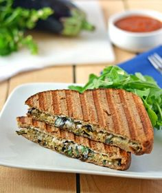 Eggplant Ricotta Grilled Cheese #tipIt#Food&Drink#Trusper#Tip