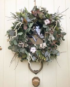 Beautiful, quality door accessories in durable finishes including brass, polished nickel and matt black. Handmade ironwork hinges, bolts, letterboxes etc Christmas Wreaths, Christmas Decorations, Door Accessories, Polished Nickel, Windows And Doors, Grapevine Wreath, Grape Vines, Floral Wreath, Decor Ideas