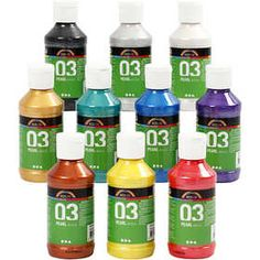 A-Color #acrylverf - Assortiment, 10x120 ml