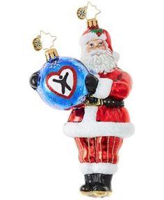 Christopher Radko Dave Thomas Adopting Darling Christmas Ornament