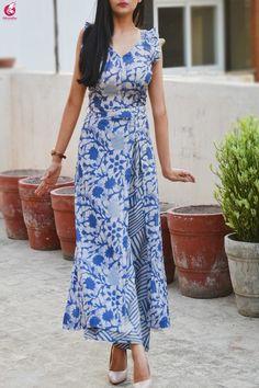 Buy Multicolored Printed Satin Georgette Kurti Set Online in India Simple Kurti Designs, Kurta Designs Women, Kurti Neck Designs, Dress Neck Designs, Salwar Designs, Kurti Designs Party Wear, Salwar Pattern, Kurta Patterns, Dress Patterns