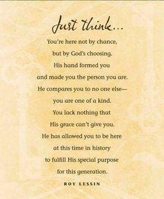 Just think......
