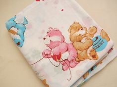 Hey, I found this really awesome Etsy listing at https://www.etsy.com/listing/175330451/1980s-care-bear-sheet-full-or-double