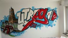 Utrecht, Web Magazine, Best Web, Graffiti, Robin, Poster, Art, Shop Signs, Art Background