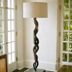 Kudu Horn Floor Lamp