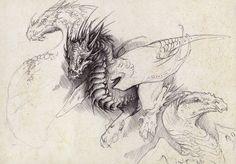 Chicken dragon by Mystalia on DeviantArt