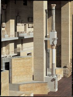 Giorgio Grassi - Renovation of the Sagunto Roman theater, Valencia 1985-1992