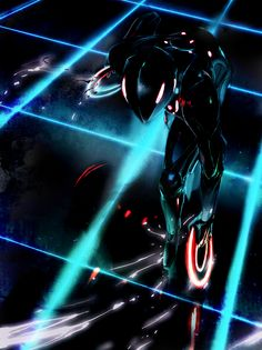 Tron ♥♥♥ Oooh Tron D:WHat you went through :(