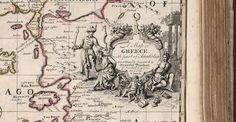 Νυν & Αεί: Χάρτης της Ελλάδας-1720