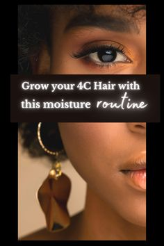 Try not to use excessive heat of any kind because this can lead to dryness, brittleness, and breakage. Everything we are trying to avoid. Click here to read 4C hair with this moisture routine.#type4 #moisture #care #regimen #routine #natural #curly #hair #howto #type4c Clarifying Shampoo, Moisturizing Shampoo, Curly Hair Care, Curly Hair Styles, Natural Hair Tips, Natural Hair Styles, Hair Topic, Natural Hair Problems, Hair Facts